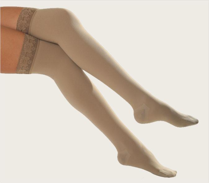 Κάλτσα Άνω Γόνατος με Κλειστά Δάχτυλα - Class I e40cf9ef549